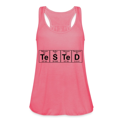 Te-S-Te-D (tested) (small) - Women's Tank Top by Bella