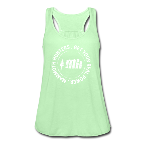 Mammoth Hunters / circular blanco - Camiseta de tirantes mujer, de Bella