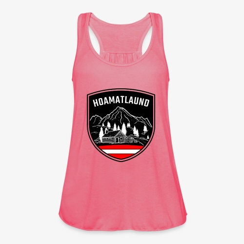 Hoamatlaund logo - Federleichtes Frauen Tank Top