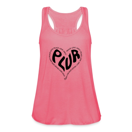 PLUR Peace Love Unity & Respect ravers mantra in a - Women's Tank Top by Bella