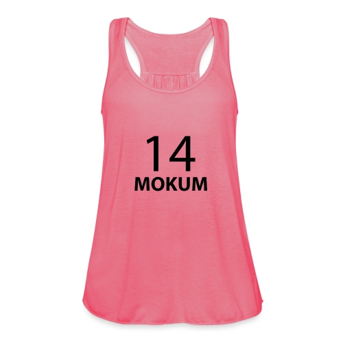 mokum 14 (black text) - Vrouwen tank top van Bella