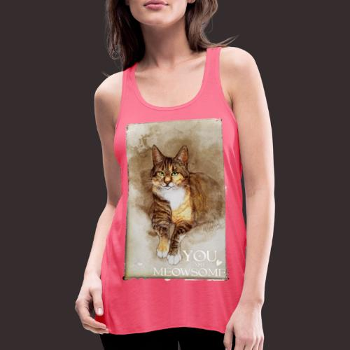 You are Meowsome - Featherweight Women's Tank Top