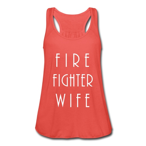 Firefighterwife - Frauen Tank Top von Bella
