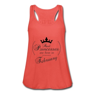 Real Princesses are born in February - Frauen Tank Top von Bella
