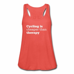 Cycling is therapy - Frauen Tank Top von Bella