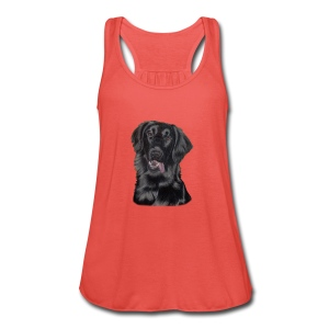 flatcoated retriever p - Dame tanktop fra Bella
