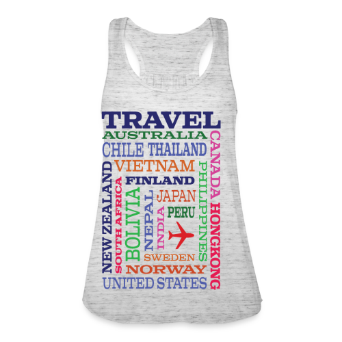 Travel Places design - Naisten tankkitoppi Bellalta