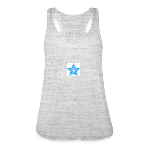 blue themed christmas star 0515 1012 0322 4634 SMU - Women's Tank Top by Bella