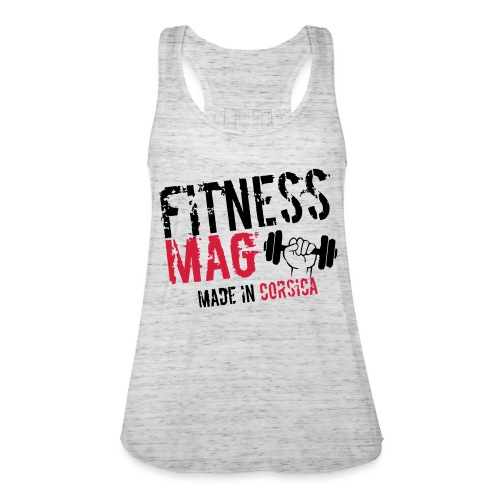 Fitness Mag made in corsica 100% Polyester - Débardeur ultra-léger Femme