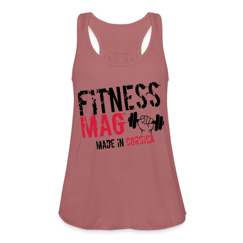 Fitness Mag made in corsica 100% Polyester - Débardeur Bella Femme