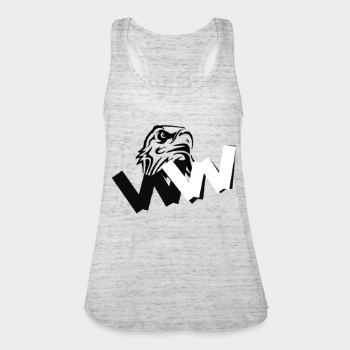 White and Black W with eagle - Featherweight Women's Tank Top