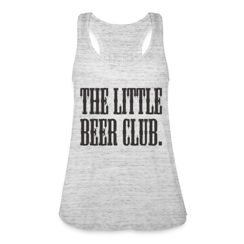 The Little Beer Club. Grey T Shirt - Women's Tank Top by Bella