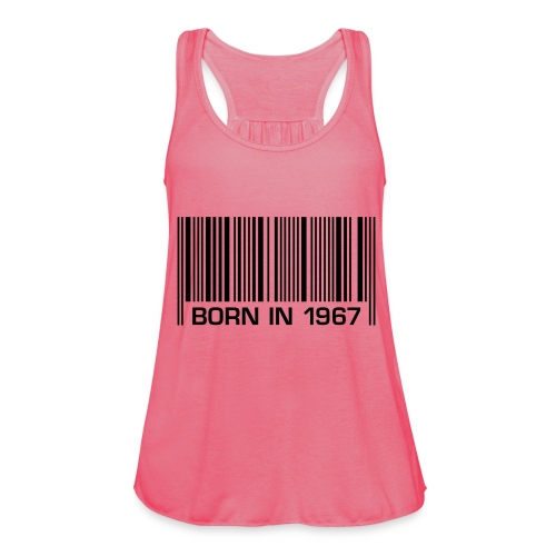 born in 1967 50th birthday 50. Geburtstag barcode - Women's Tank Top by Bella