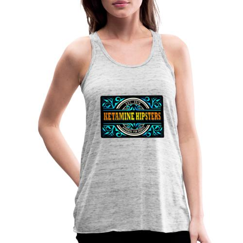 Black Vintage - KETAMINE HIPSTERS Apparel - Featherweight Women's Tank Top