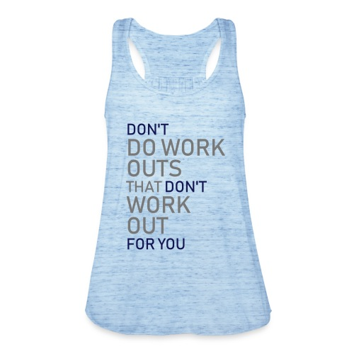 Don't do workouts - Featherweight Women's Tank Top