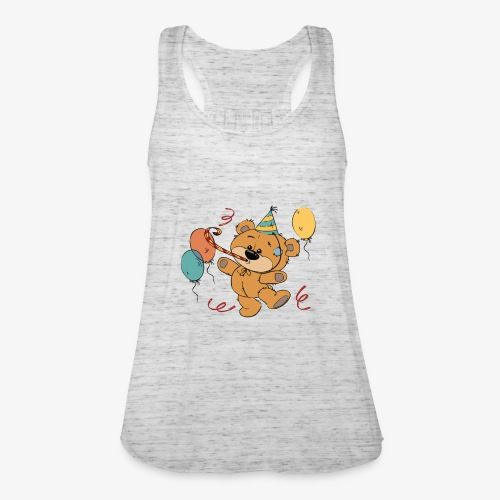 Little teddy bear at the party - Women's Tank Top by Bella