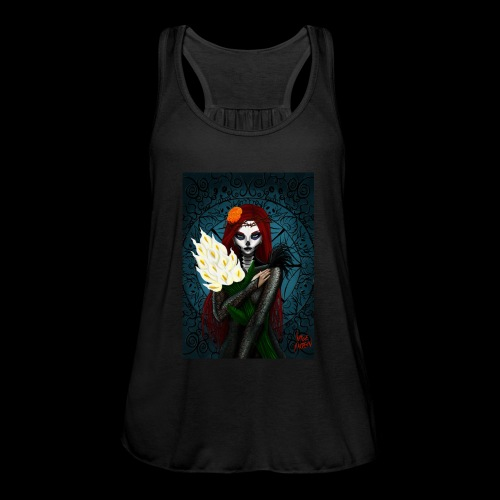 Death and lillies - Featherweight Women's Tank Top