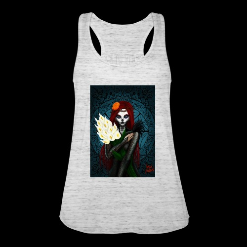 Death and lillies - Women's Tank Top by Bella