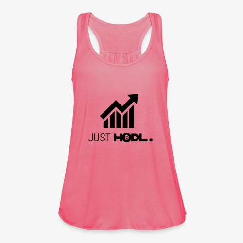 HODL-btc-just-black - Women's Tank Top by Bella
