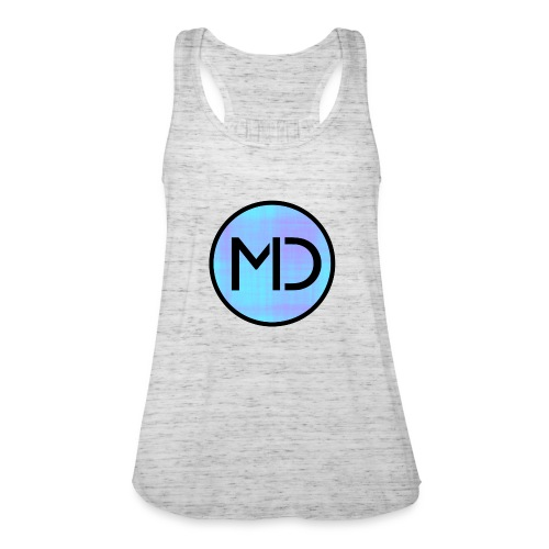 MD Blue Fibre Trans - Women's Tank Top by Bella