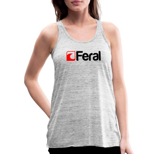 Feral Red Black - Featherweight Women's Tank Top