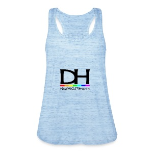 DH Health&Fitness Large logo - Women's Tank Top by Bella
