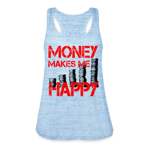 MONEY MAKES ME HAPPY Geld - Frauen Tank Top von Bella