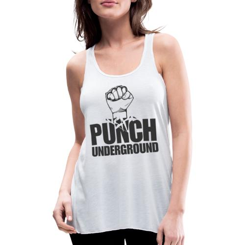 Punch Underground Black - Frauen Tank Top von Bella