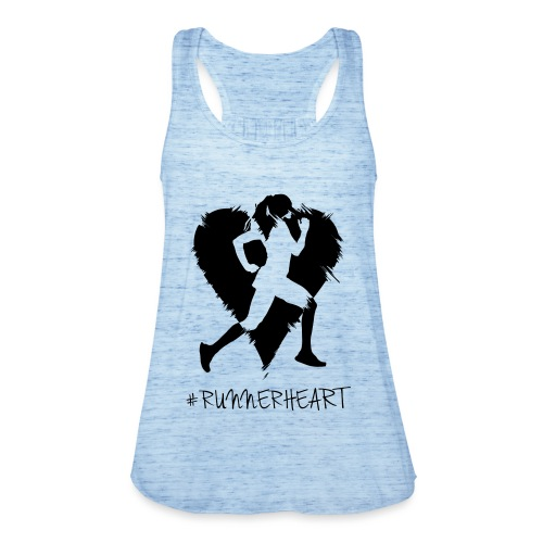 #Runnerheart girl - Frauen Tank Top von Bella