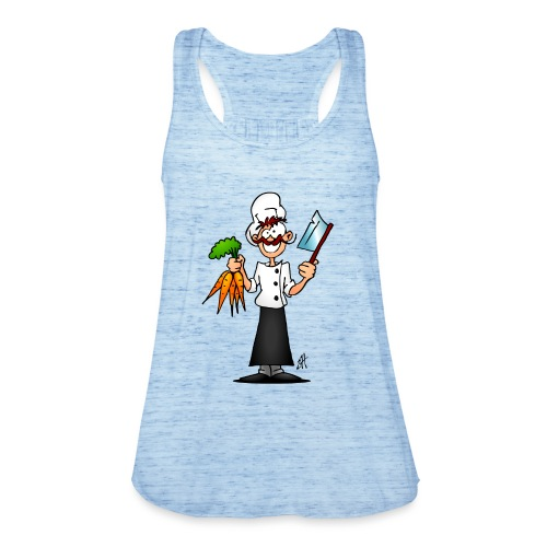 The vegetarian chef - Featherweight Women's Tank Top