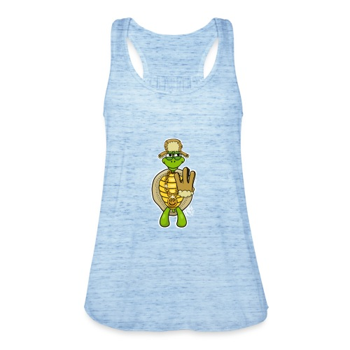 Winter West Coast Schildkröte / Hip-Hop Turtle - Frauen Tank Top von Bella
