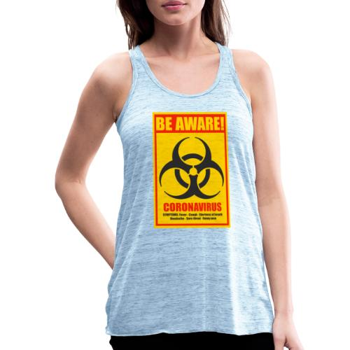 Be aware! Coronavirus biohazard - Featherweight Women's Tank Top
