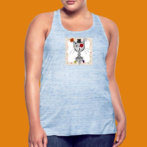cat color - Featherweight Women's Tank Top
