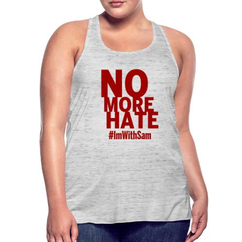 No More Hate- Red Text - Featherweight Women's Tank Top