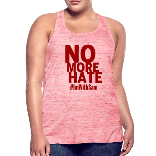 No More Hate- Red Text - Women's Tank Top by Bella