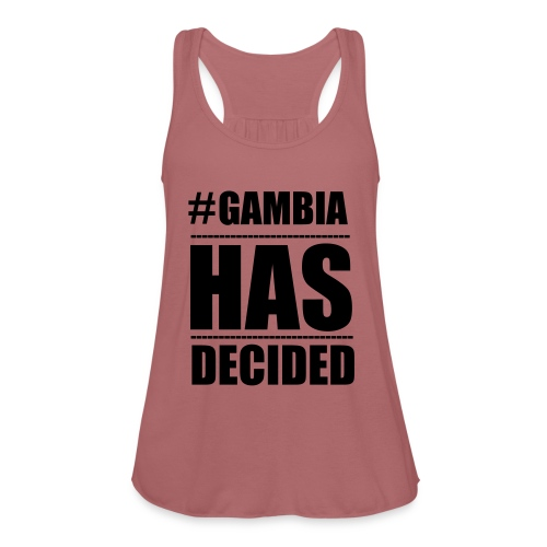 GAMBIA_HAS_DECIDED - Women's Tank Top by Bella