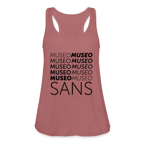 museo sans - Women's Tank Top by Bella