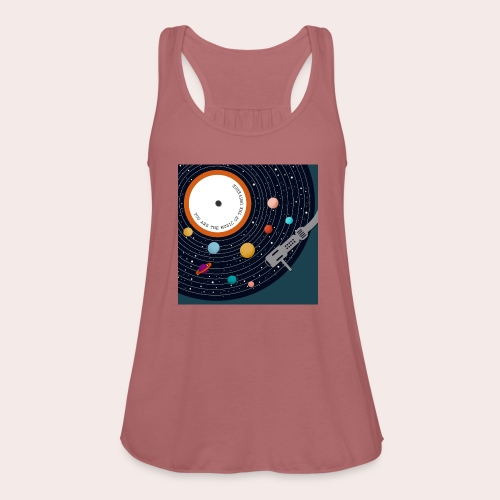 You Are The Music Of The Universe - Federleichtes Frauen Tank Top