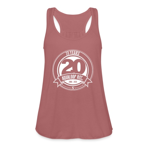 20 Years Aqualoop Records (white) - Featherweight Women's Tank Top