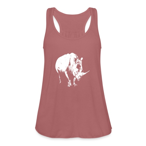 White Rhinoceros (highlights only) - Women's Tank Top by Bella