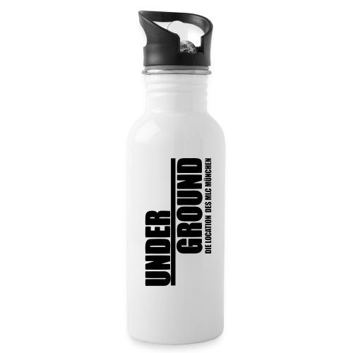 MLC UnderGround - Trinkflasche mit integriertem Trinkhalm