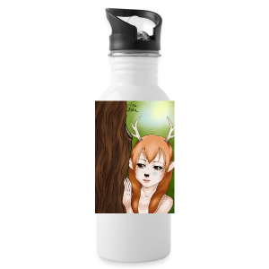 Sam sung s6:Deer-girl design by Tina Ditte - Water Bottle