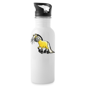fjord_horse - Water Bottle