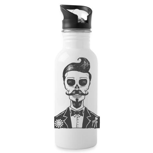 RT Skull Gentleman - Trinkflasche