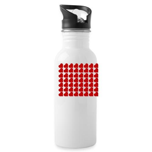 Hearts - Water Bottle
