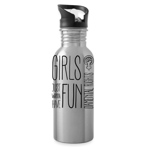 Girls just wanna have fundamental rights - Trinkflasche