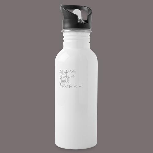 Atomare Pilze streiten nicht über ihr Geschlecht. - Trinkflasche