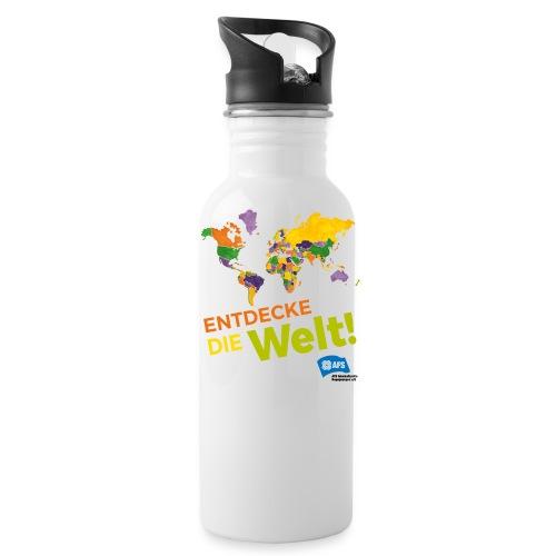 Entdecke die Vielfalt der Welt mit AFS - Trinkflasche