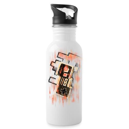 Blurry NES - Water Bottle