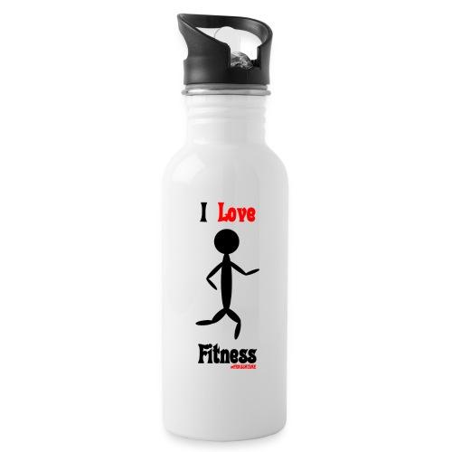 Fitness #FRASIMTIME - Borraccia con cannuccia integrata